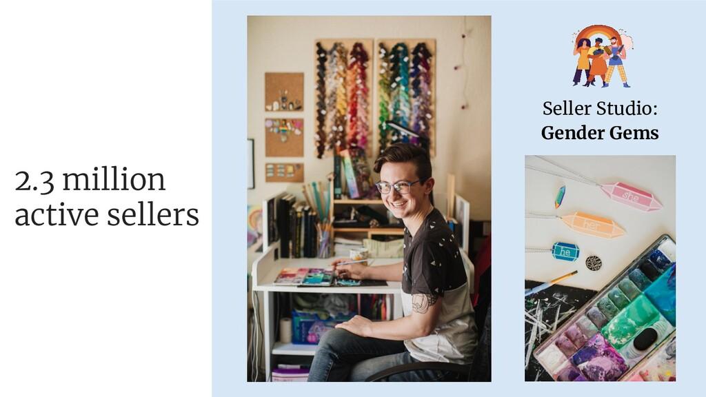 Seller Studio: Gender Gems