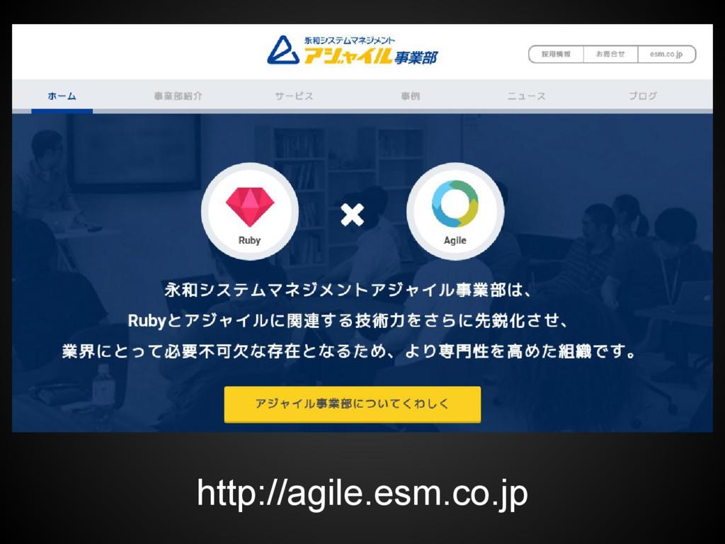 http://agile.esm.co.jp