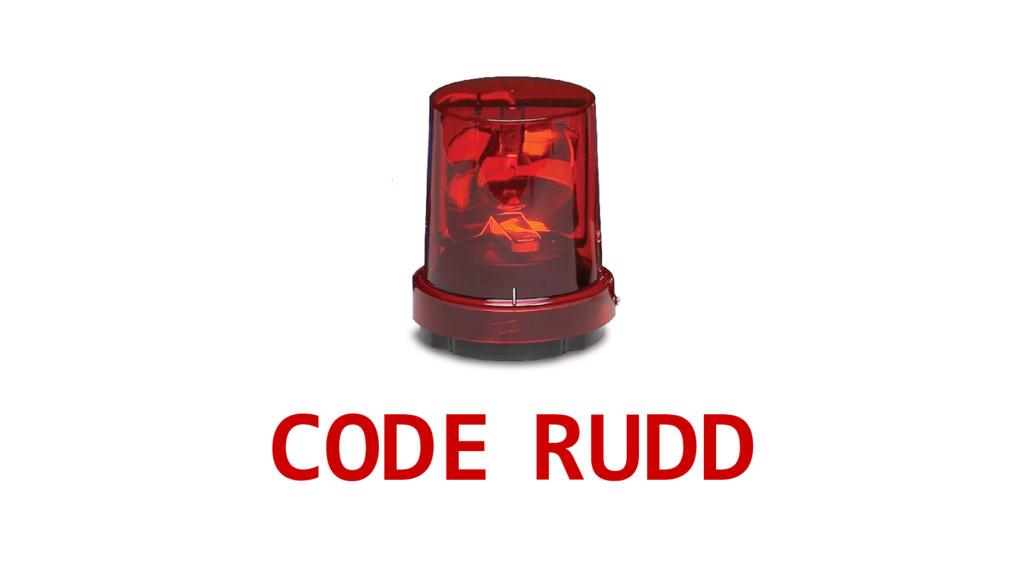 CODE RUDD