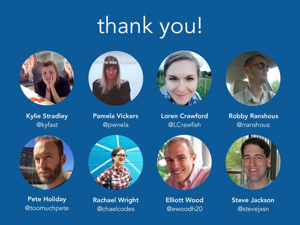 thank you! Loren Crawford @LCrawfish Pamela Vic...