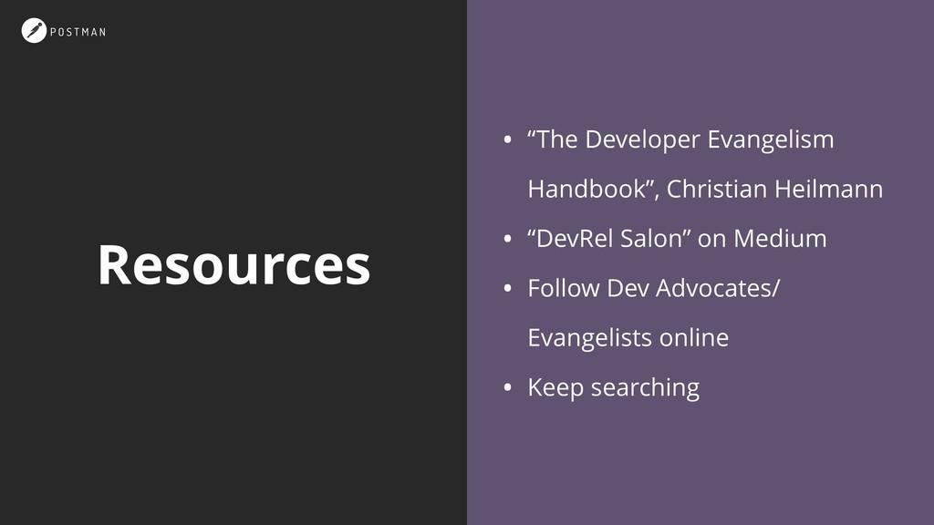 """Resources • """"The Developer Evangelism Handbook""""..."""