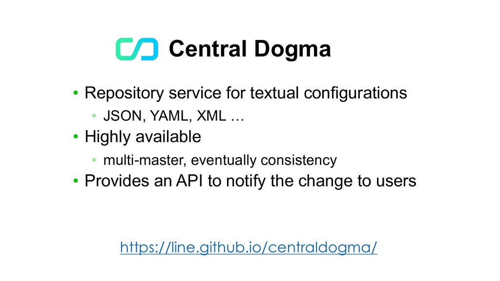 Central Dogma • Repository service for textual ...