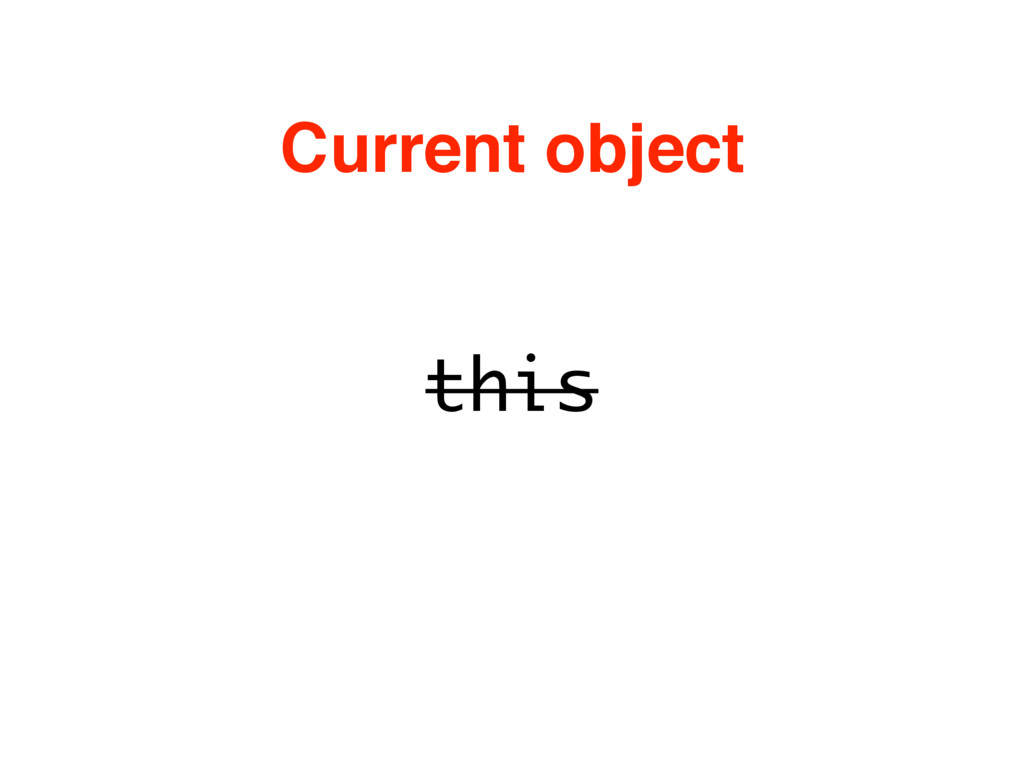 this Current object