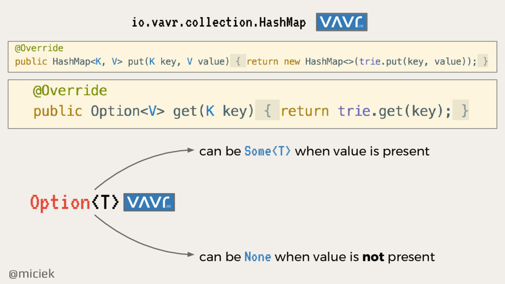 @miciek io.vavr.collection.HashMap Option<T> ca...