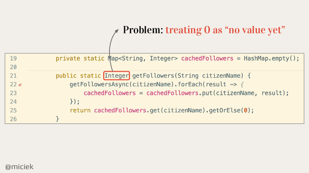 "@miciek Problem: treating 0 as ""no value yet"""