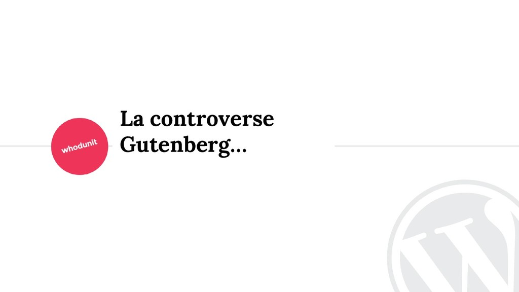 <> La controverse Gutenberg…