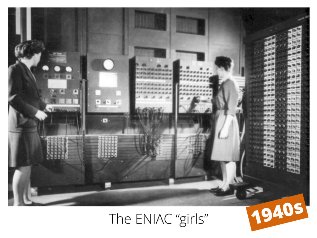 "The ENIAC ""girls"""