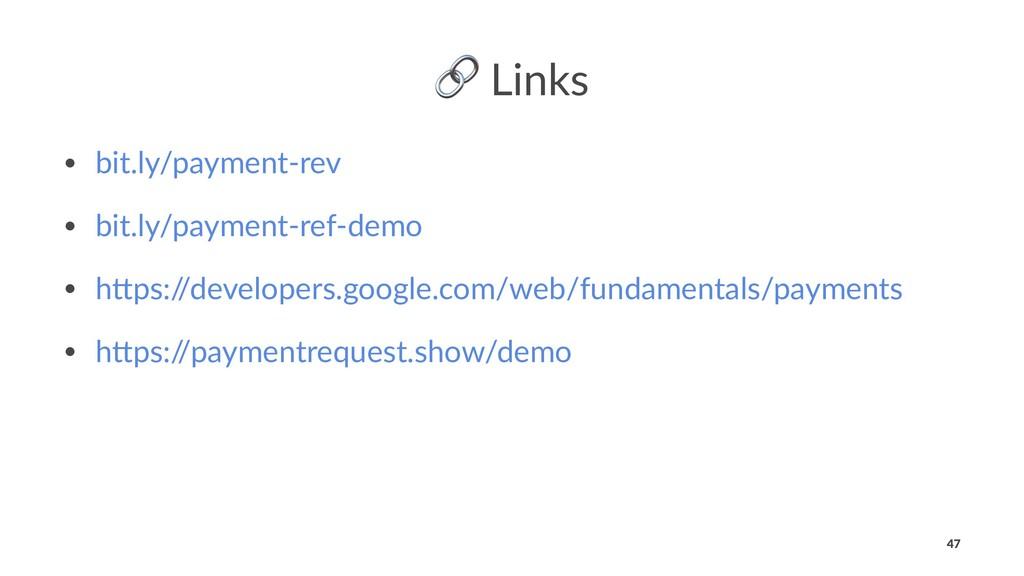 ! Links • bit.ly/payment-rev • bit.ly/payment-r...