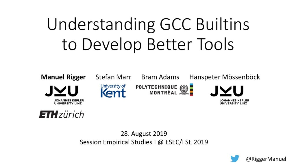 Understanding GCC Builtins to Develop Better To...