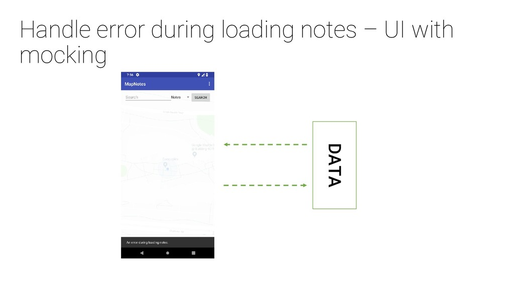 Handle error during loading notes – UI with moc...
