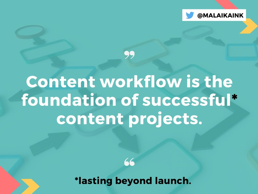 Content workflow is the foundation of successfu...
