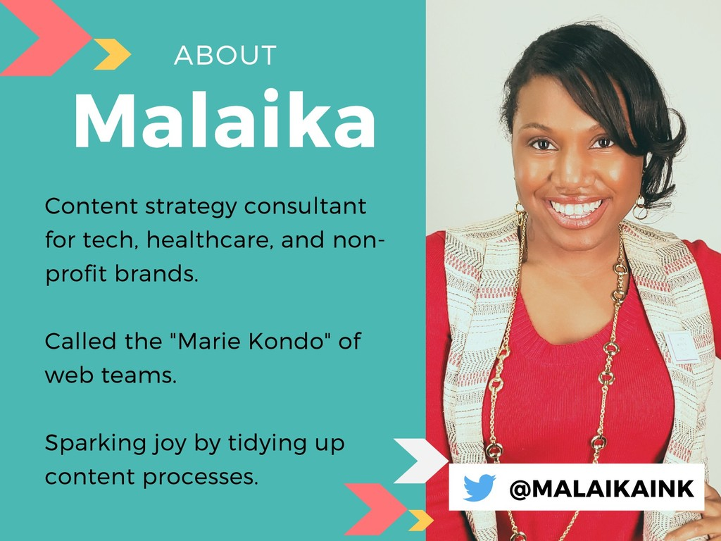ABOUT Malaika Content strategy consultant for t...