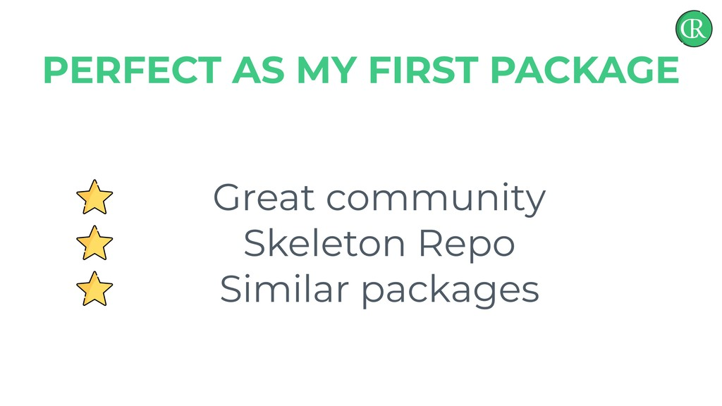 Great community Skeleton Repo Similar packages ...