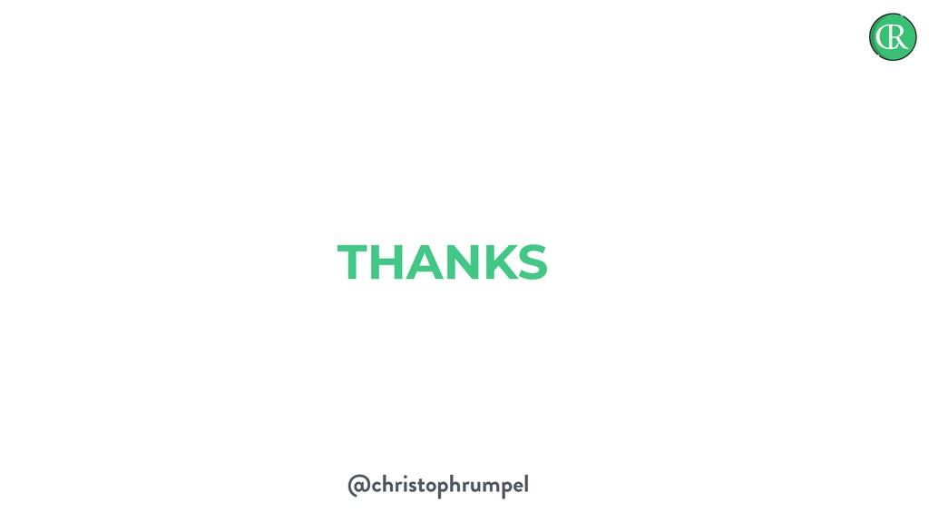 @christophrumpel THANKS