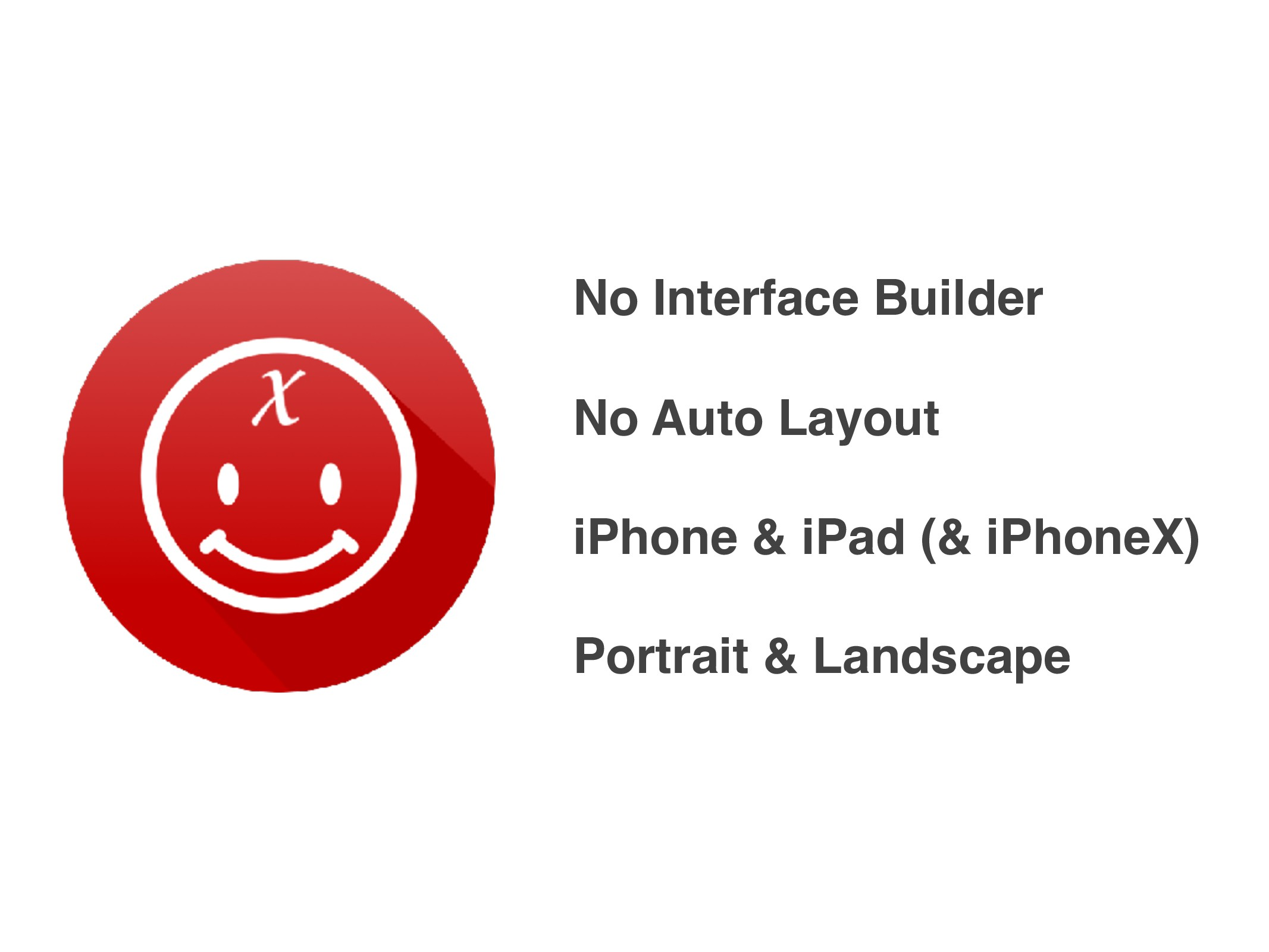 No Interface Builder No Auto Layout iPhone & iP...
