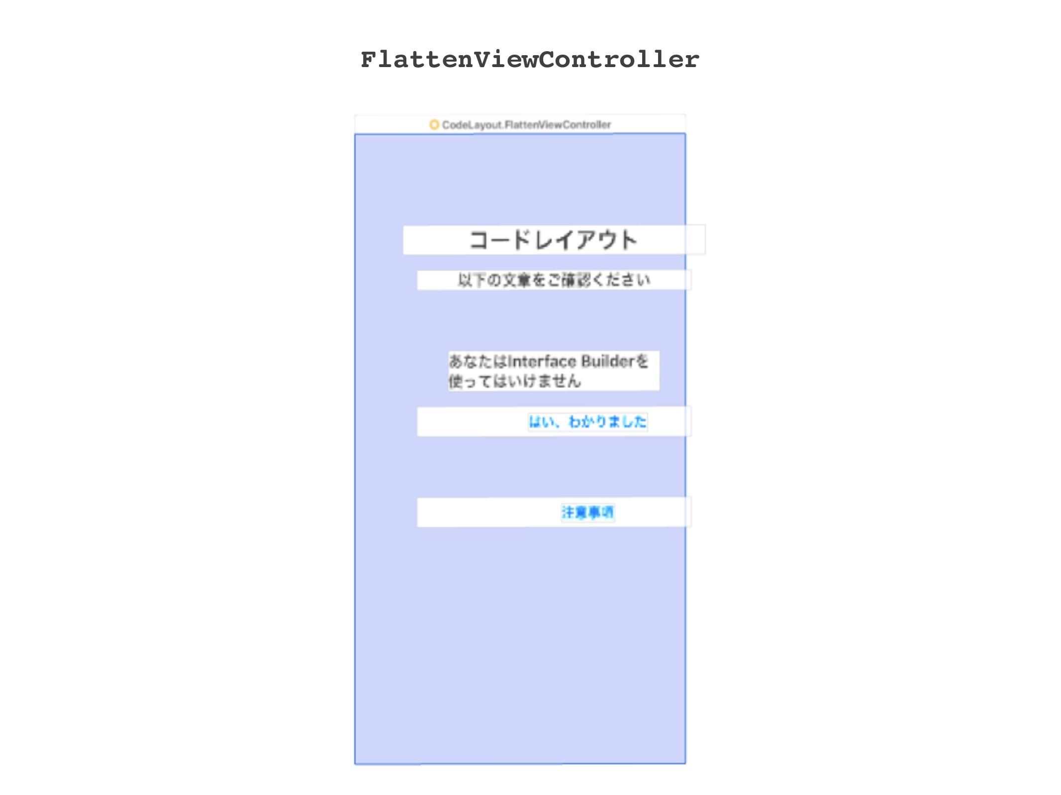 FlattenViewController