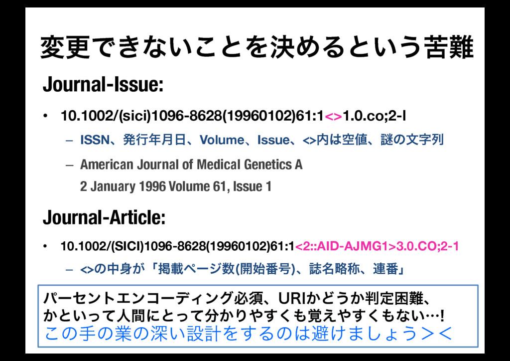 มߋͰ͖ͳ͍͜ͱΛܾΊΔͱ͍͏ۤ Journal-Issue: • 10.1002/(sic...