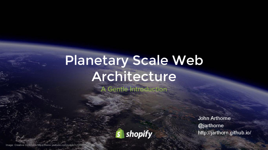 A Gentle Introduction Planetary Scale Web Archi...