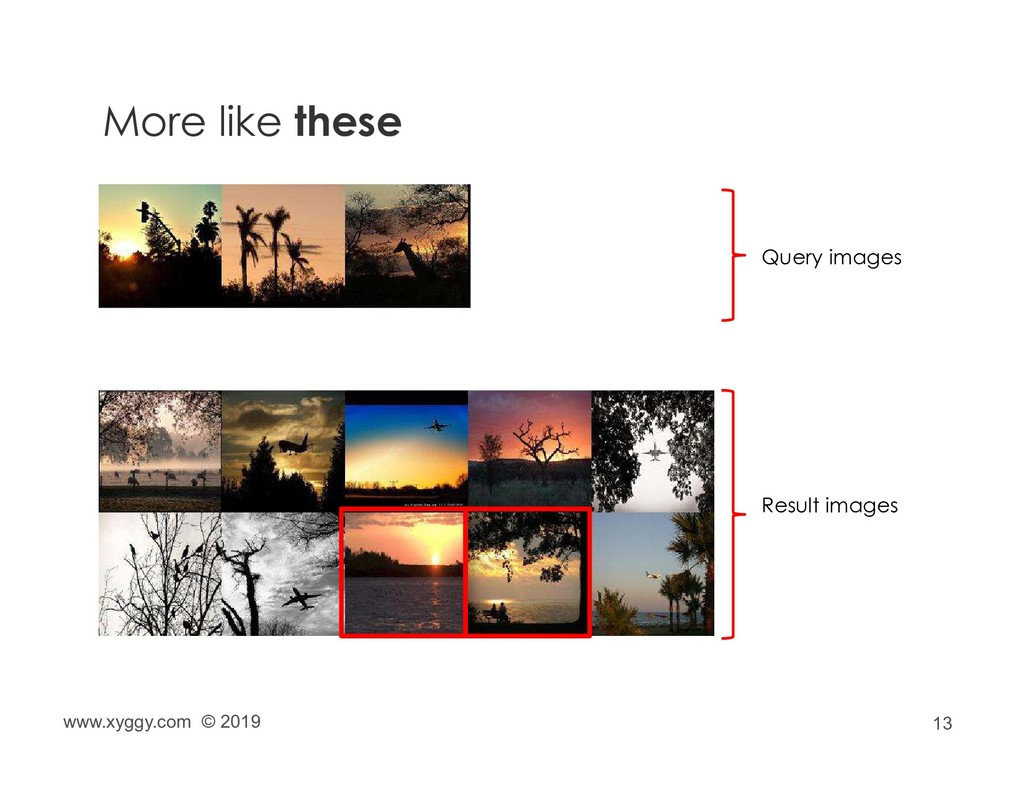 13 More like these Query images Result images w...