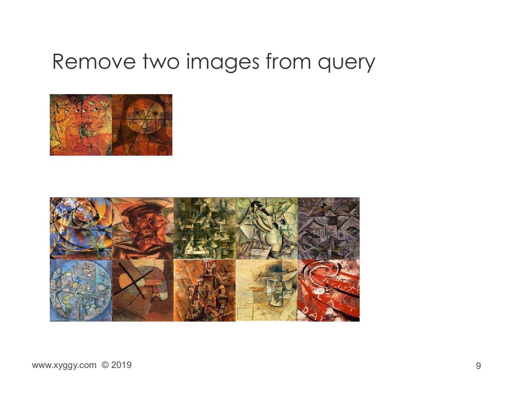 9 Remove two images from query www.xyggy.com © ...