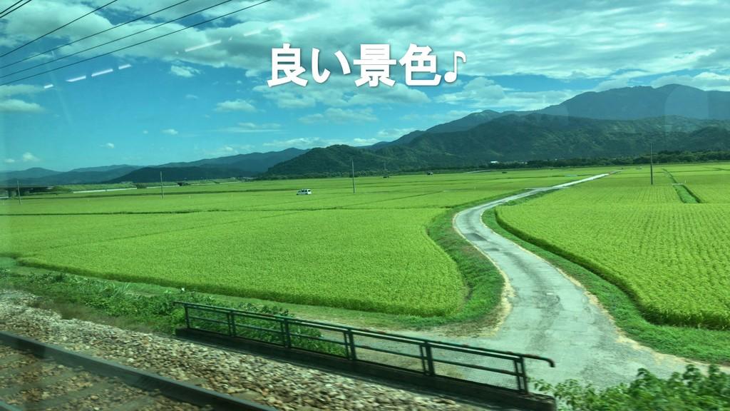 良い景色♪