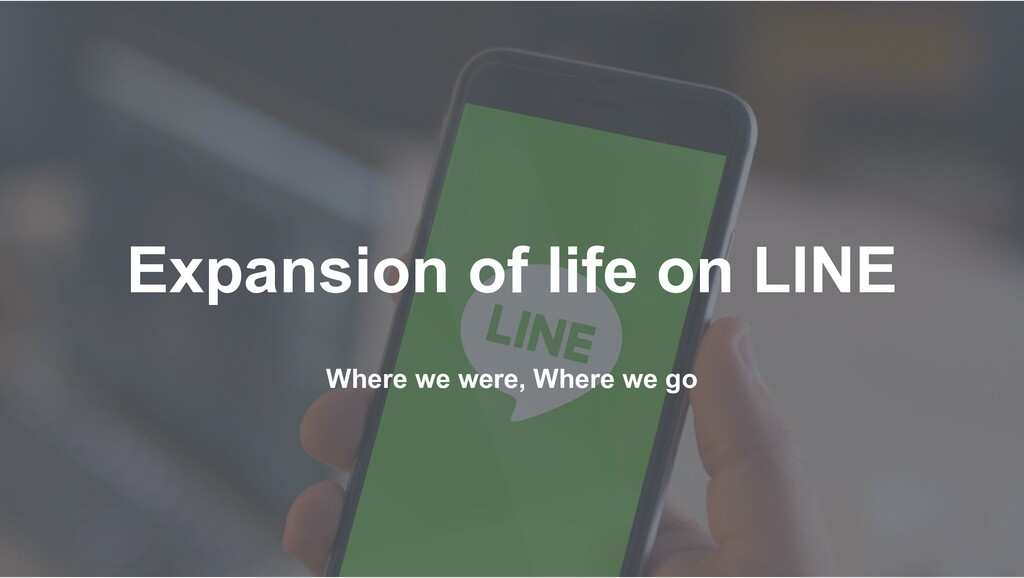 Where we were, Where we go Expansion of life on...