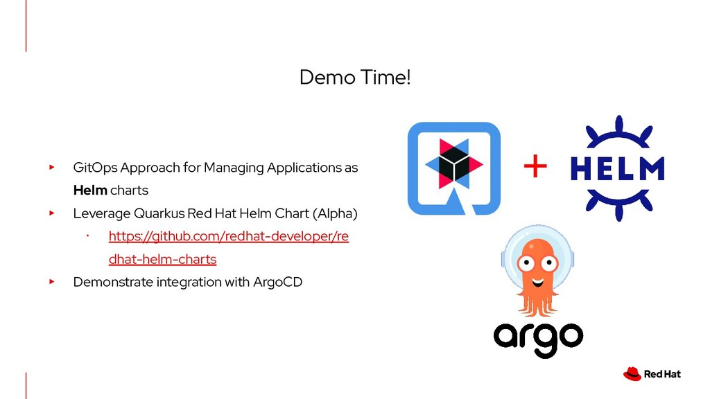 Demo Time! + ▸ GitOps Approach for Managing App...