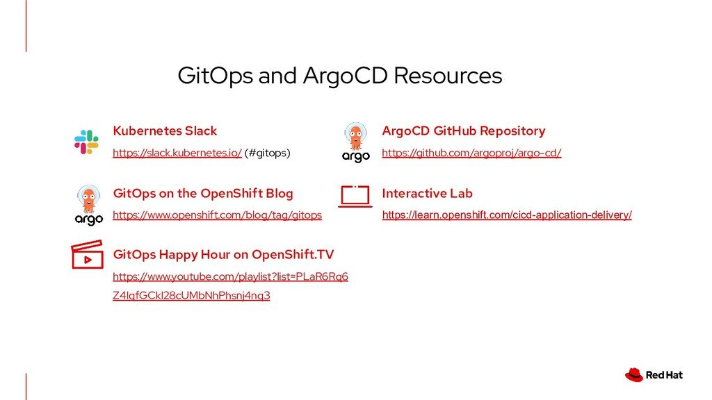 GitOps and ArgoCD Resources Kubernetes Slack ht...