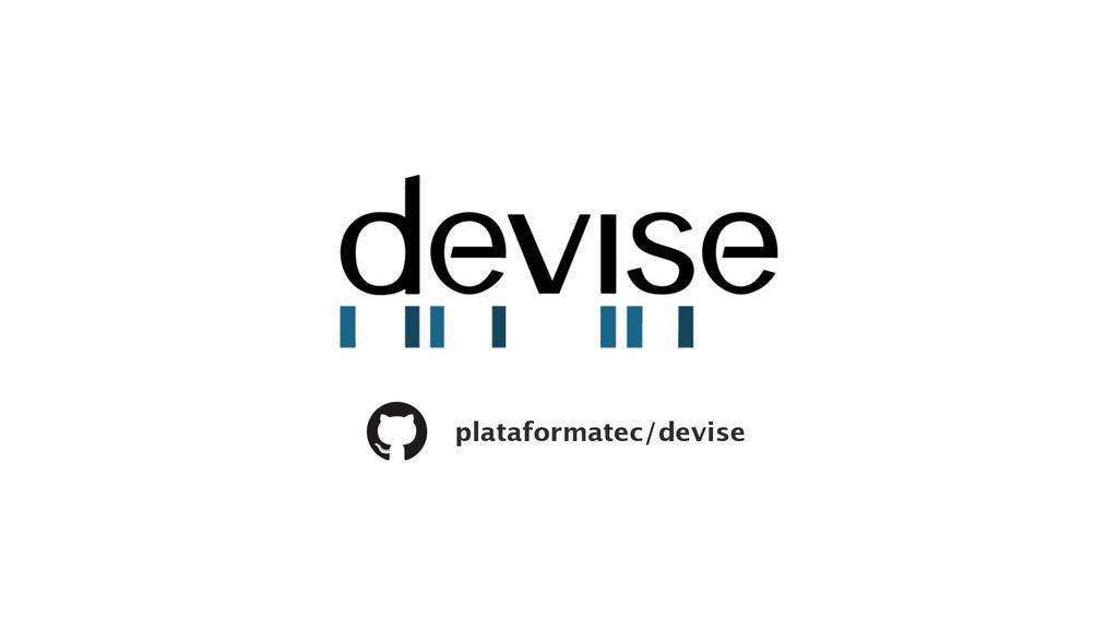 plataformatec/devise