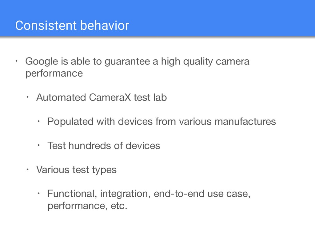 • Google is able to guarantee a high quality ca...