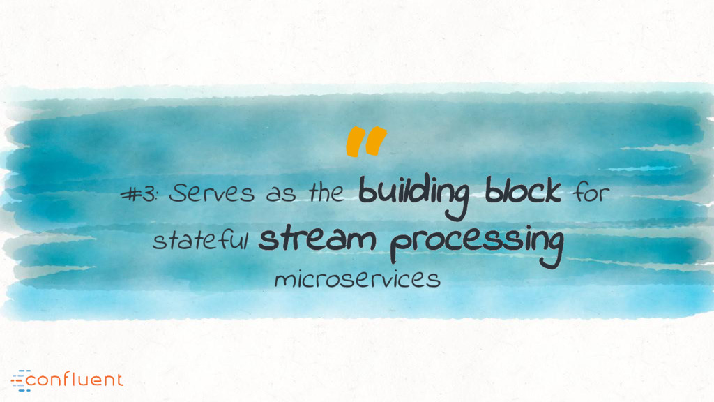 """ #3: Serves as the building block for stateful..."