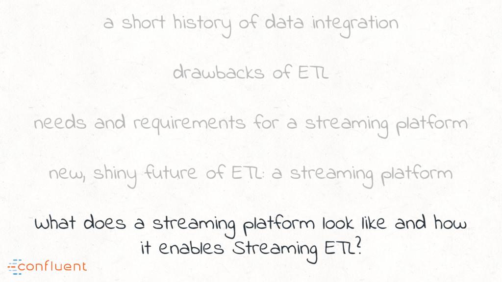 a short history of data integration drawbacks o...