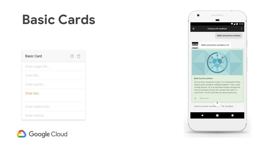 43 Basic Cards