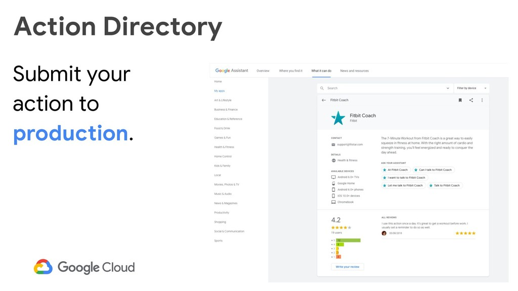 53 Action Directory Submit your action to produ...