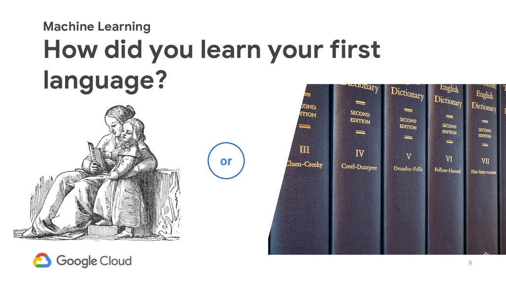 9 Machine Learning How did you learn your first...