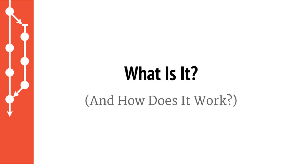 (And How Does It Work?) What Is It?