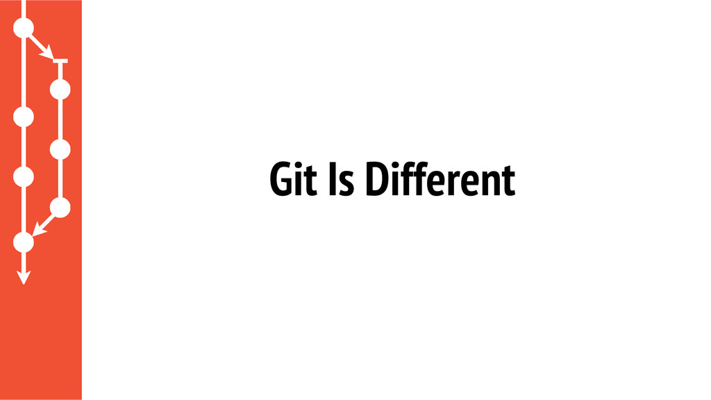 Git Is Different