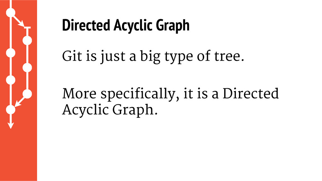 Git is just a big type of tree. More specifical...