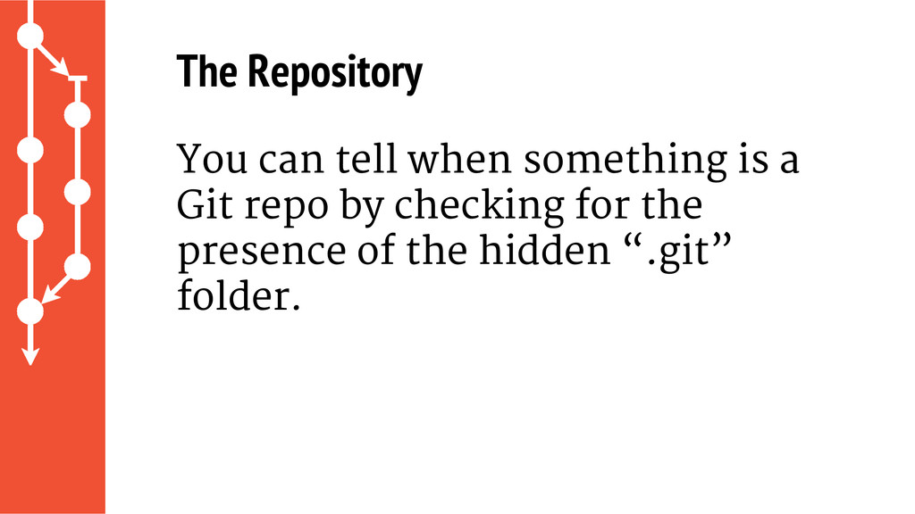 The Repository You can tell when something is a...