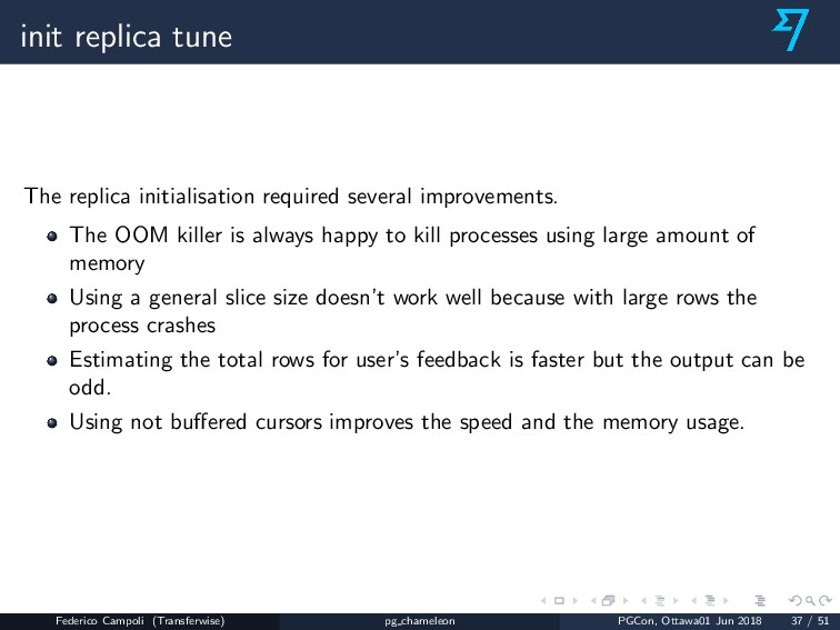 init replica tune The replica initialisation re...