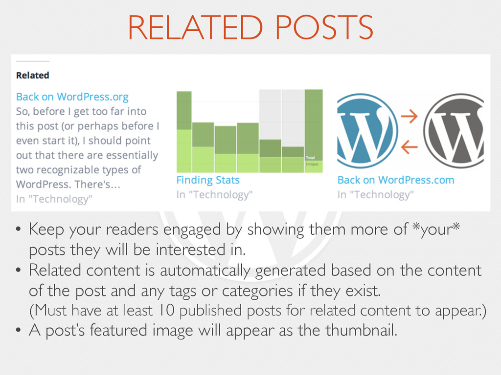 RELATED POSTS • Keep your readers engaged by sh...