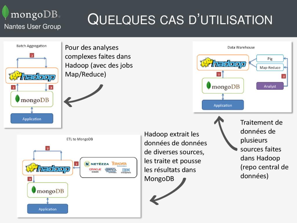 QUELQUES CAS D'UTILISATION Nantes User Group Po...