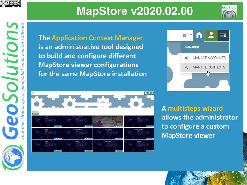 MapStore v2020.02.00 The Application Context Ma...