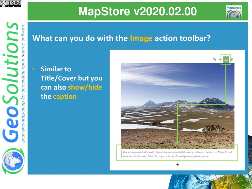 MapStore v2020.02.00 What can you do with the I...
