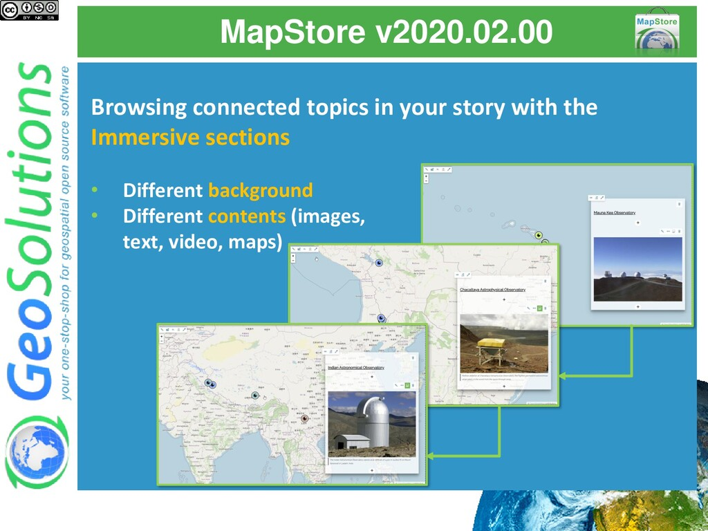 MapStore v2020.02.00 Browsing connected topics ...