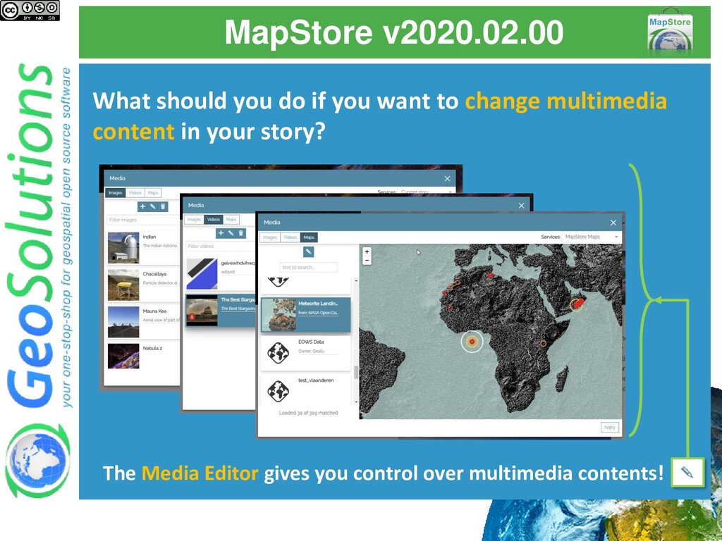 MapStore v2020.02.00 What should you do if you ...