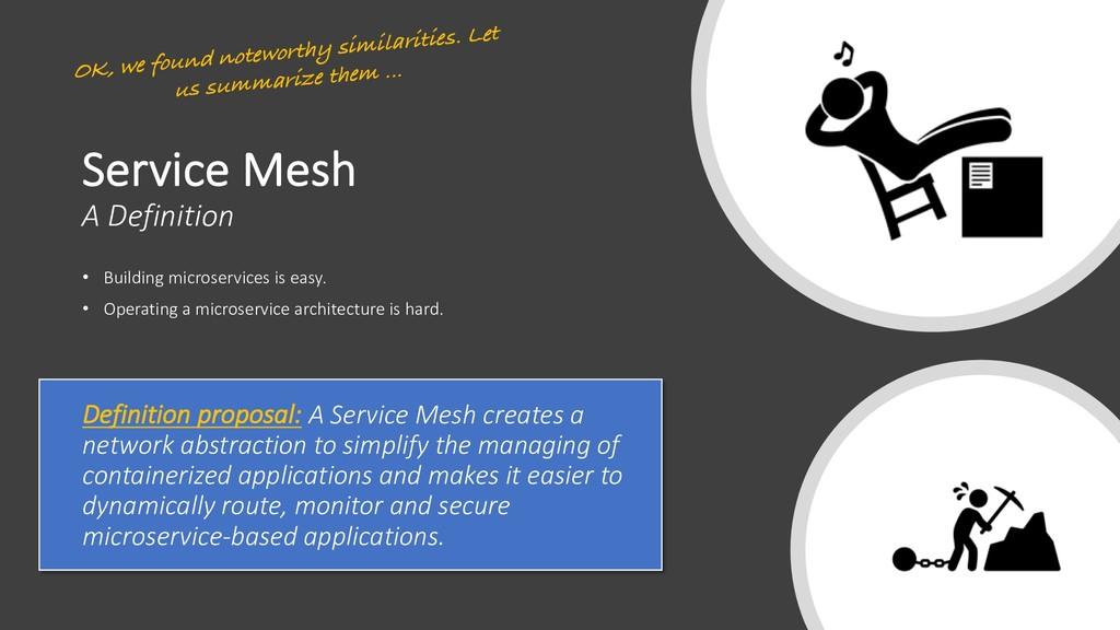 Service Mesh A Definition • Building microservi...