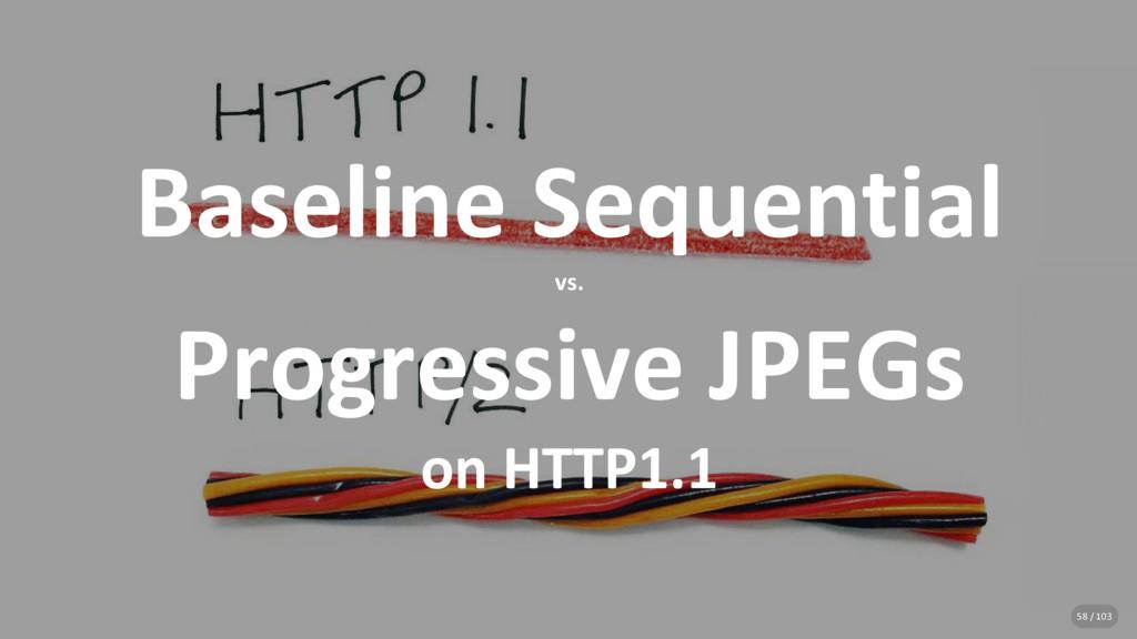 Baseline Sequential vs. Progressive JPEGs on HT...