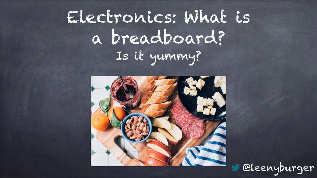 @leenyburger Is it yummy? Electronics: What is ...
