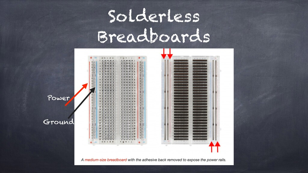 Solderless Breadboards Power Ground